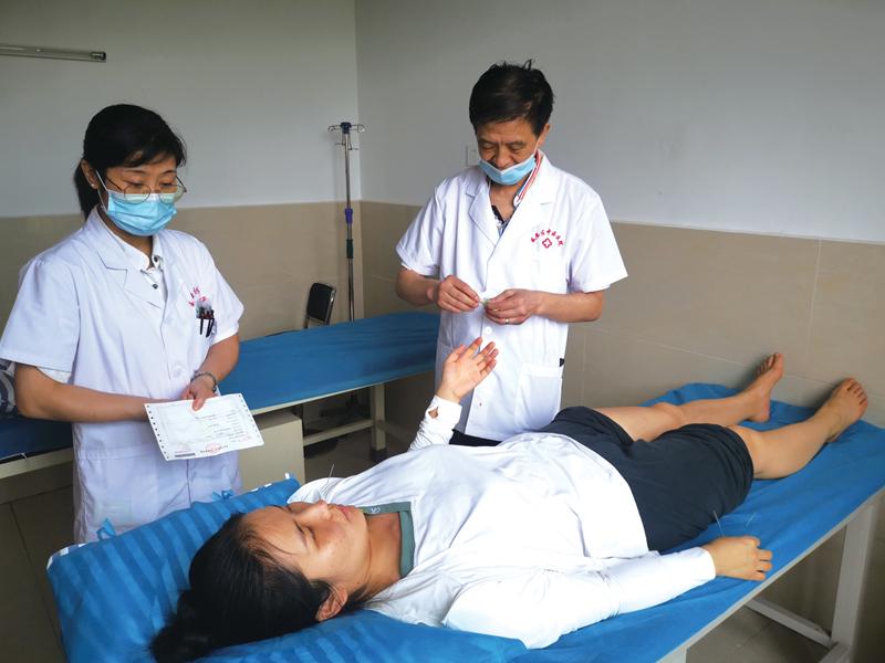 """咸安区中医医院""""睡不着""""试试针灸疗法"""